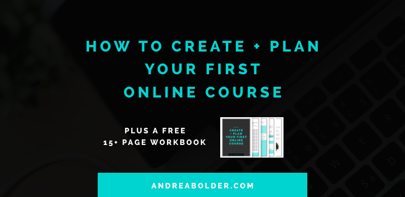How to Create and Plan Your First Online Course (#ChampionCourse Series)