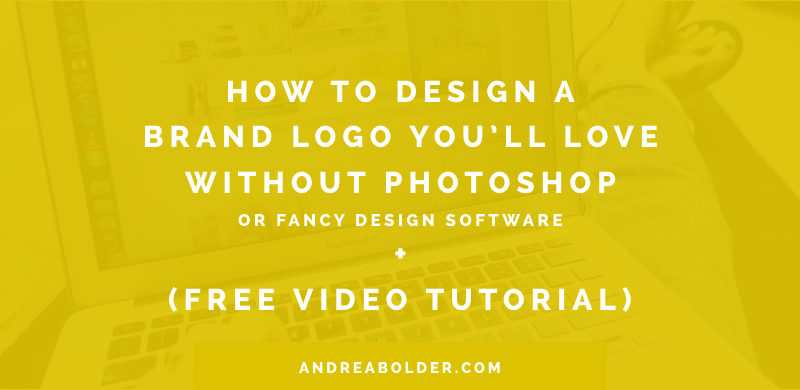 Design A Own Brand Logo You'll Love Without Photoshop