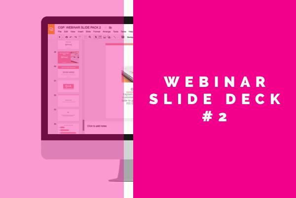 Webinar Slide Deck 2