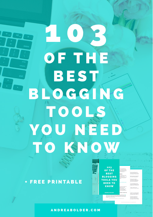 Best Blogging Tools Resources