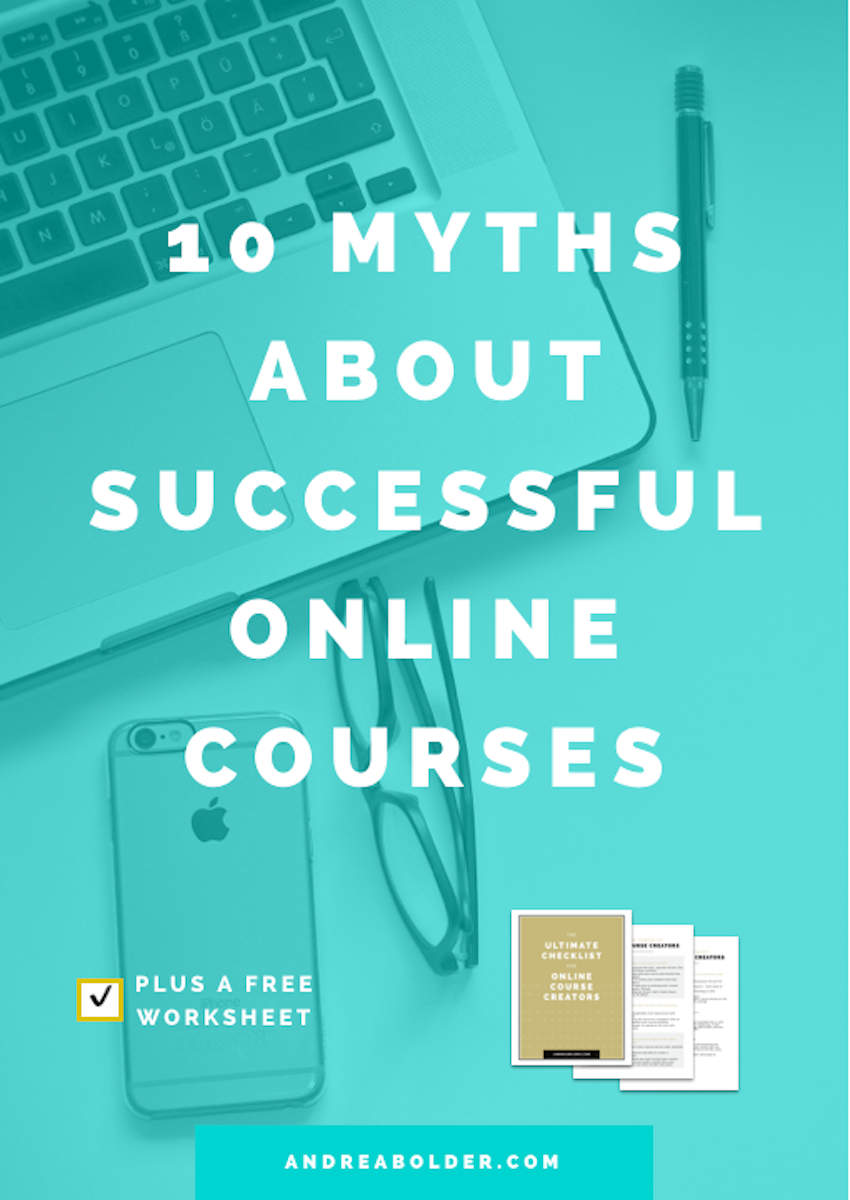 10 Myths About Successful Online Courses