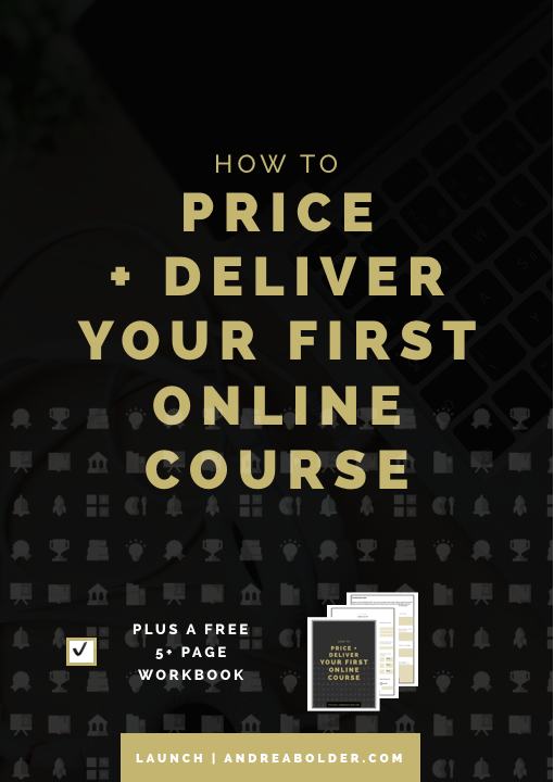 How to Price and Deliver Your First Online Course (#ChampionCourse Series)