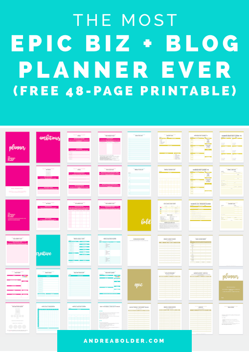 The Best Business Planner
