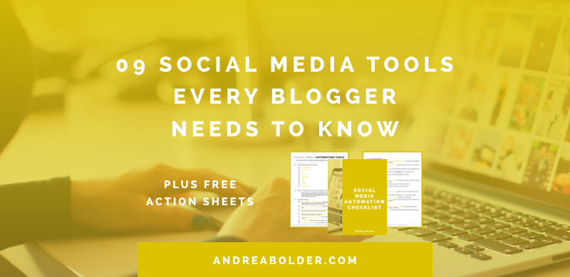 9 SOCIAL MEDIA AUTOMATION TOOLS EVERY BLOGGER NEEDS TO KNOW +( IFTTT RECIPE CHEATSHEET)