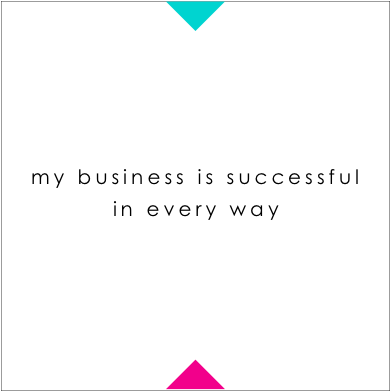 affirmations for business owners