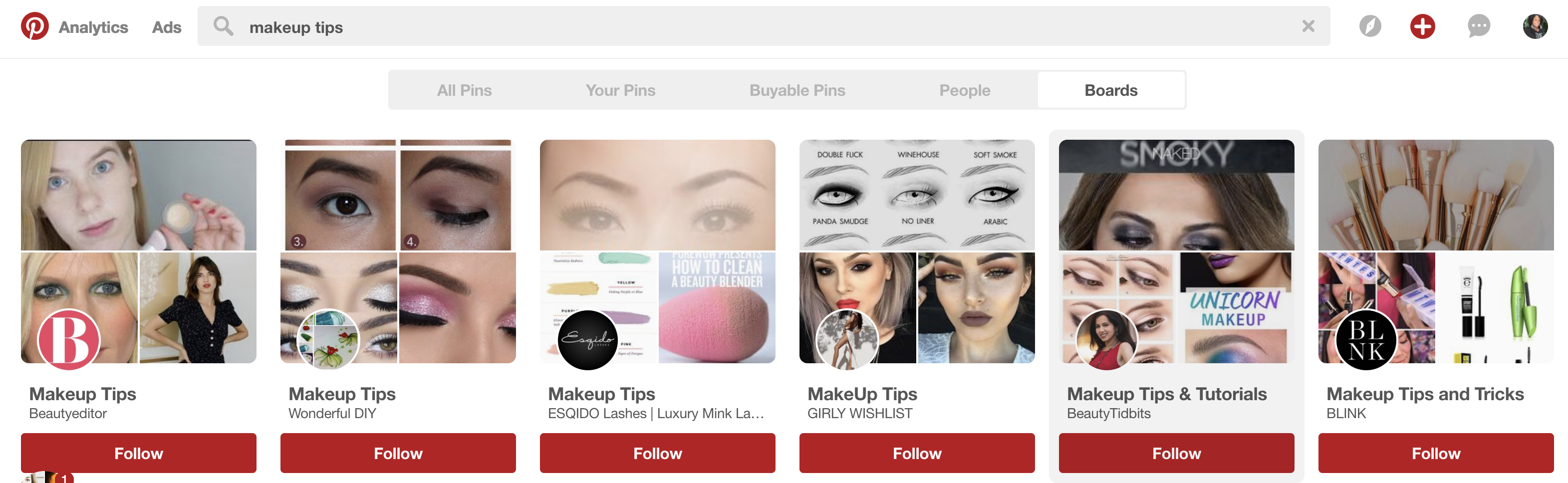 how to see repins on pinterest