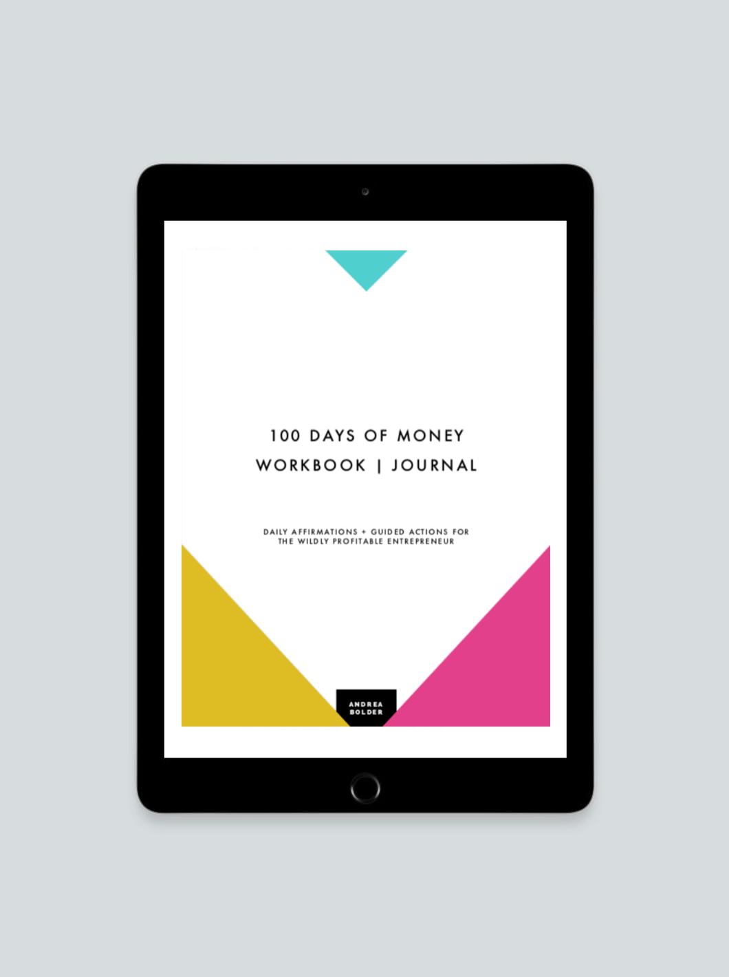 Workbooks money workbook : 100 DAYS OF MONEY JOURNAL + AFFIRMATION CARDS – Blog + Branding ...