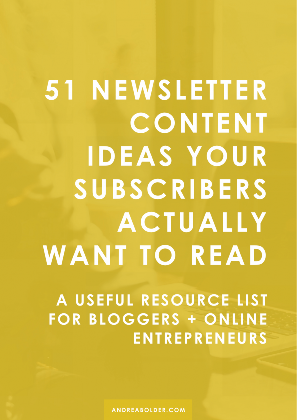 Best Newsletter Content Ideas