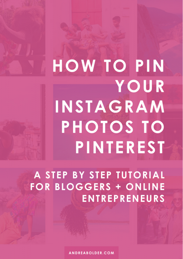 How To Pin Instagram Photos to Pinterest