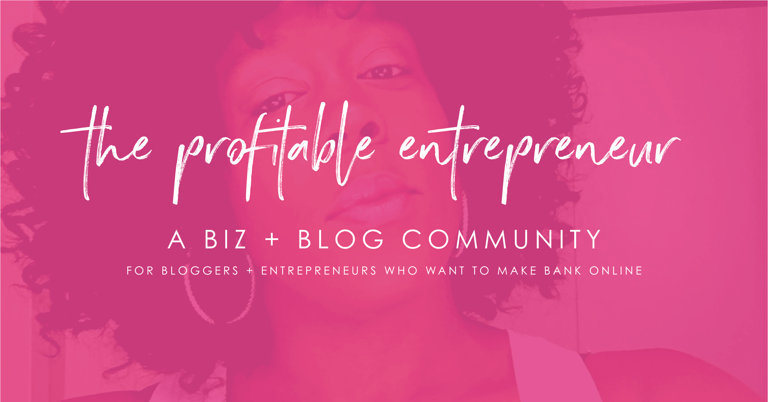 The Profitable Entrepreneur Facebook Group