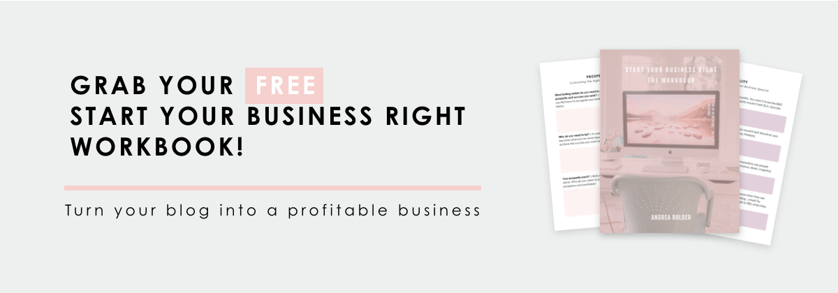 Start Your Business Right Workbook