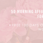 50 Morning Affirmations For Success