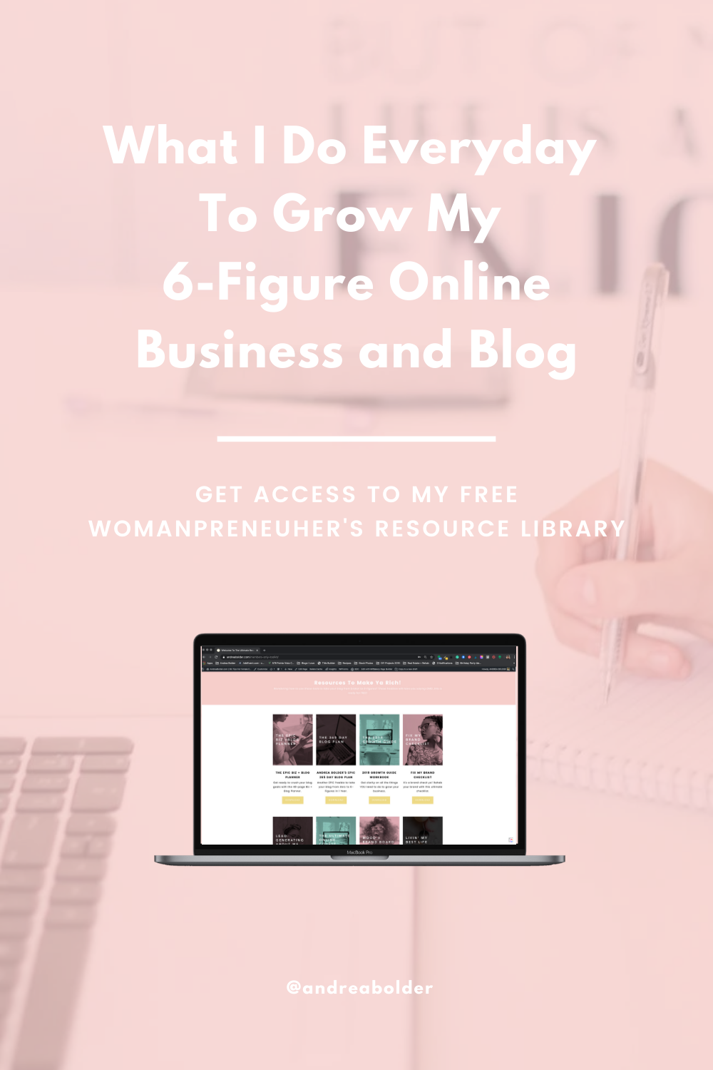 What I Do Everyday To Grow My 6-Figure Online Business And Blog