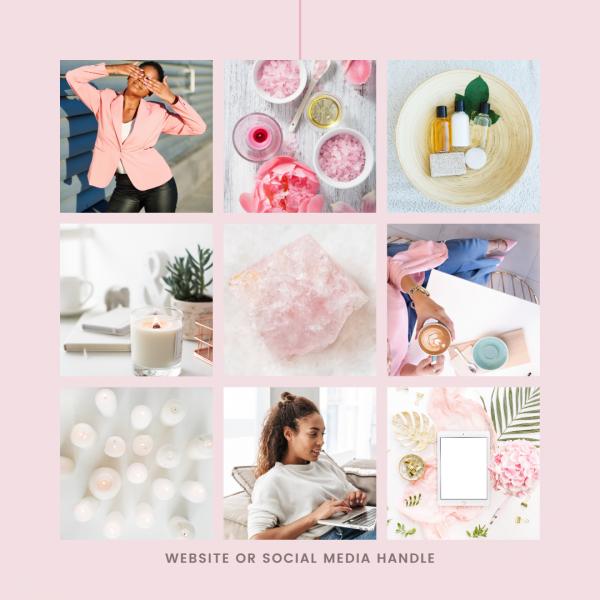BOSS UP Instagram Squares Canva Kit
