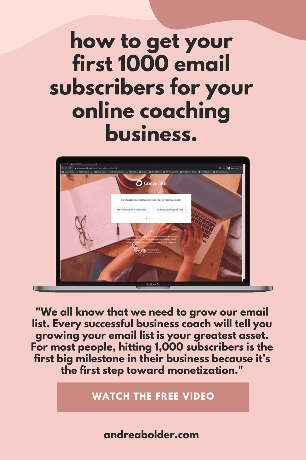 How To Get Your First 1000 Email Subscribers For Your Online Coaching Business