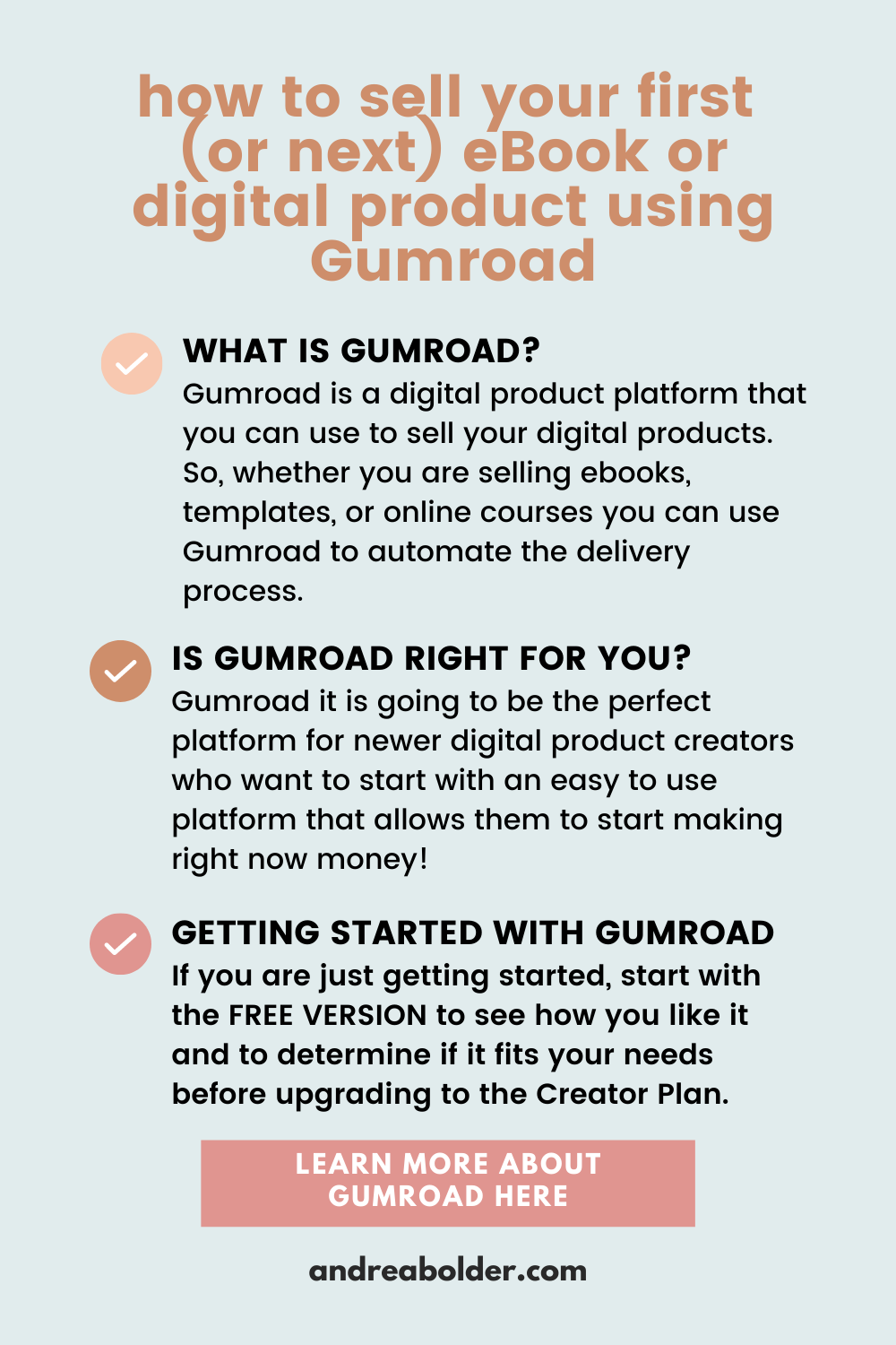 How To Sell Your Digital Products Gumroad