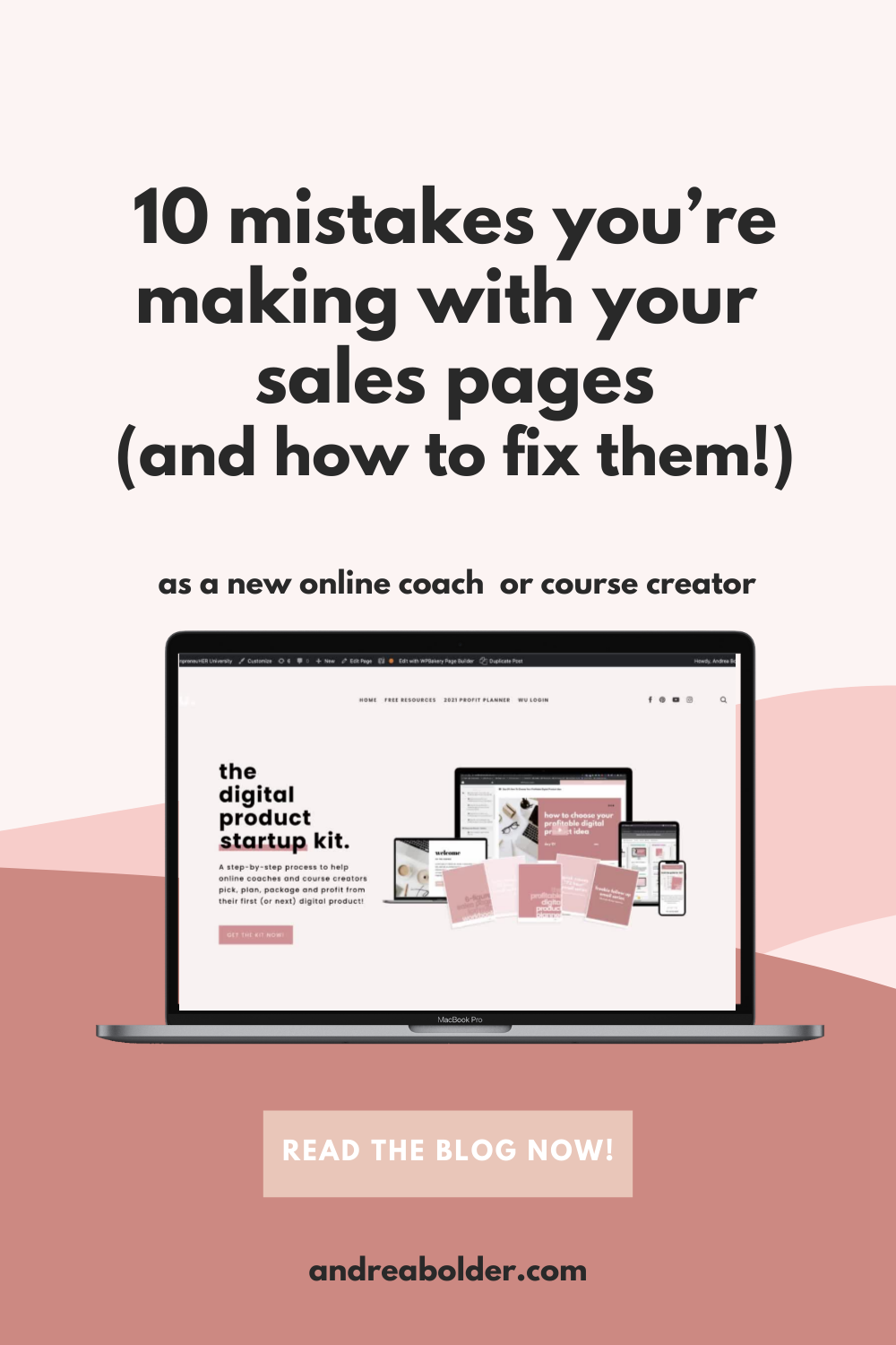 10 Mistakes You're Making With Your Course Sales Pages